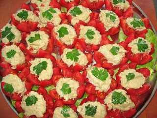rosii cu salata vinete